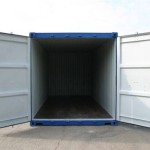 20ft Container for Sale - Open Doors