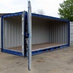 20ft Open Sided Container