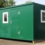 Flat Pack Storage Container (Green)