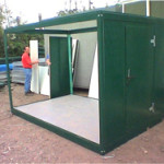 Building a Flat Pack Storage Container